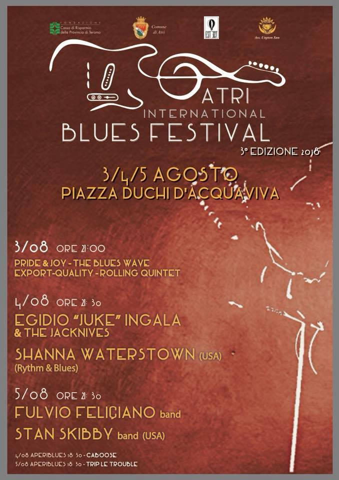 Atri International Blues Festival - III° 2018